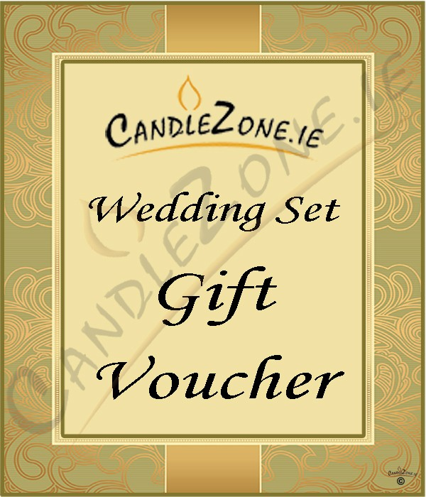 Wedding gift vouchers - CandleZone.ie