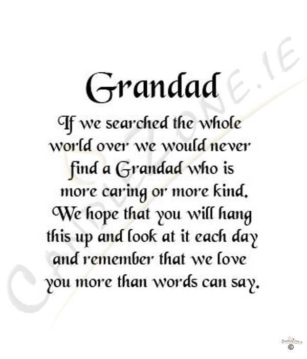 My grandfather passed away essay