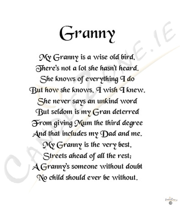 Fucking Poem for granny this scene