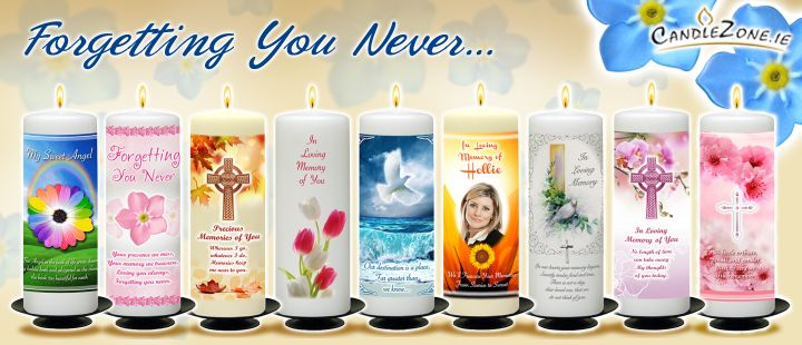 Click Here - Personalised Remembrance Candles