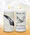 Personalised Favour Candles