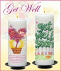 Get Well Soon Candles - CandleZone.ie