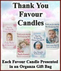 ChristeningFavour Candles