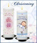 Candles - Christening