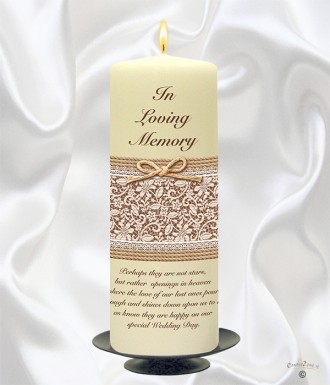 Remembrance Candle For Wedding | Wedding Tips and Inspiration