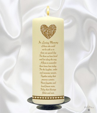Welcome To Our Personalised Candles For Weddings