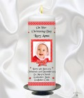 Welcome to our Personalised Candles for Christenings