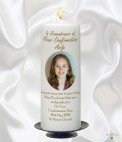 Personalised Confirmation Candles