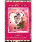 Personalised Valentine Candles