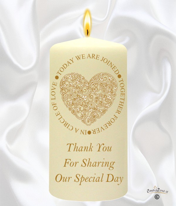 Circle of Love Gold Wedding Favour