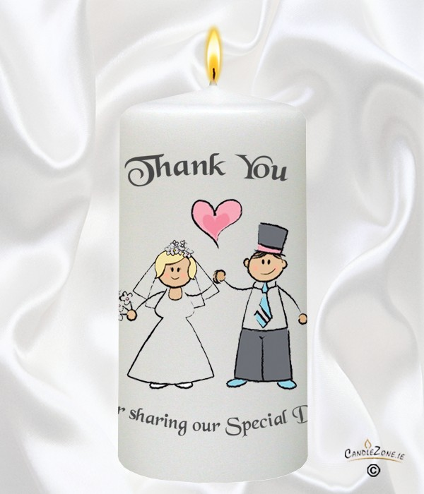 Happy Ever After - Blonde Wedding Favour
