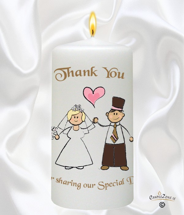 Happy Ever After Gold - Blonde Wedding Favour