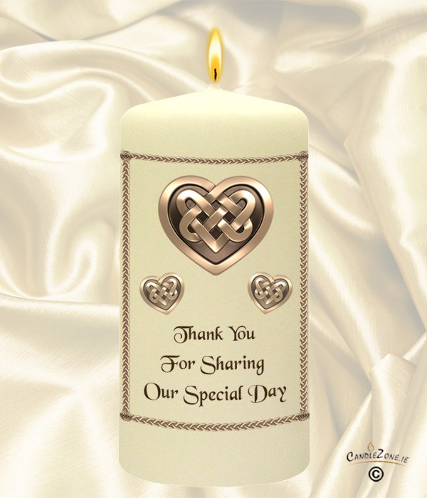 Celtic Heart Wedding Favour