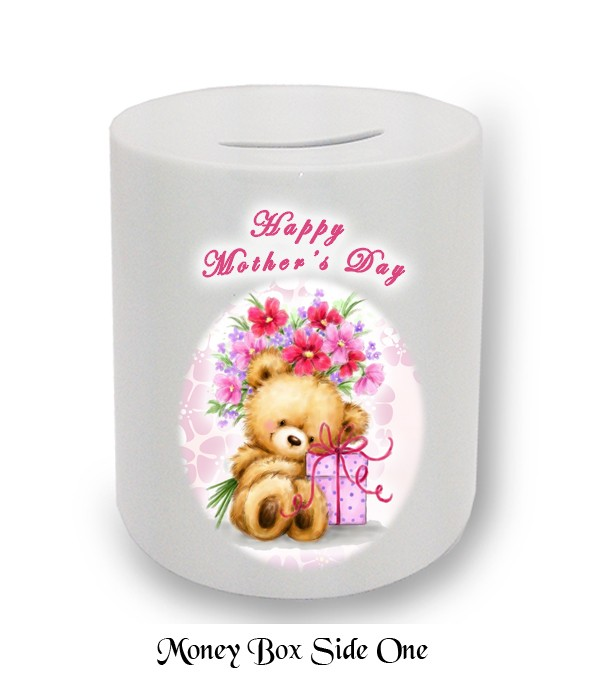 Teddy & Presents Mother's Day Money Box