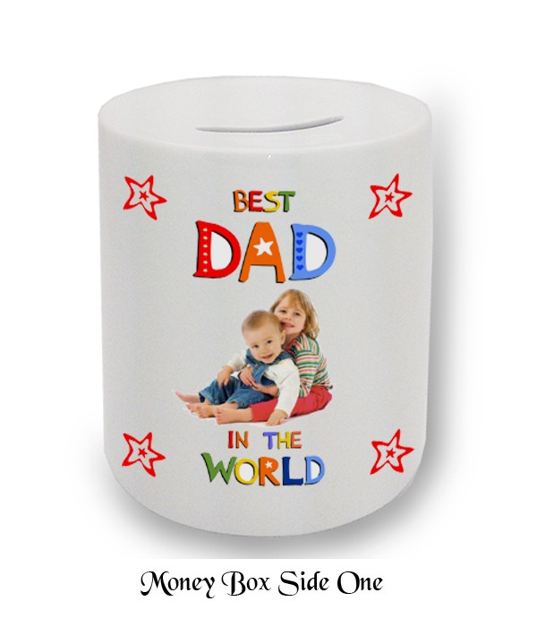 Best Dad in the World Fathers Day Money Box