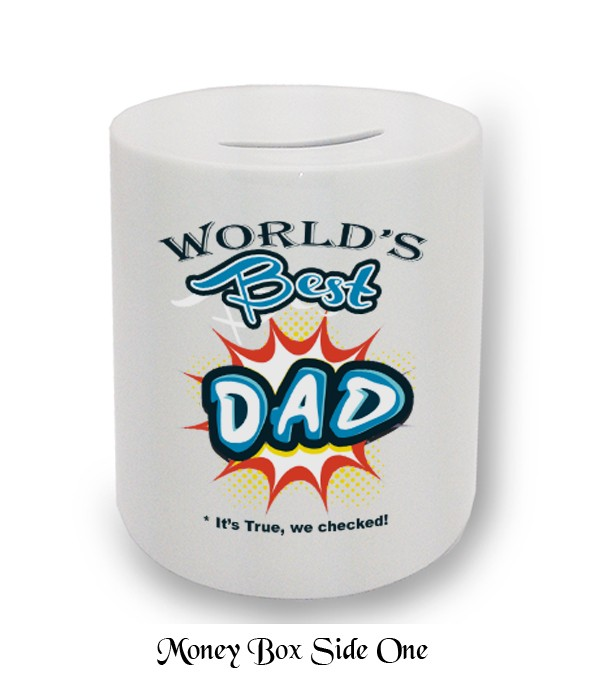 World's Best Dad Fathers Day Money Box