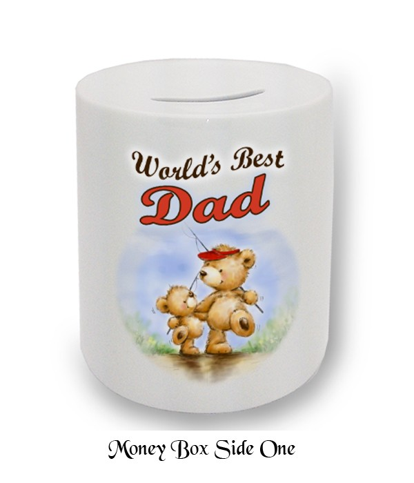 Little & Large Bear Fathers Day Money Box