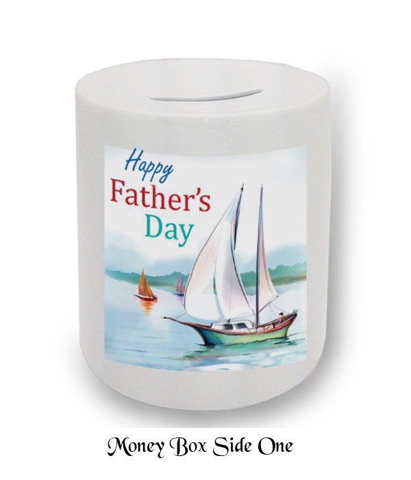 Sailing Dad Fathers Day Money Box
