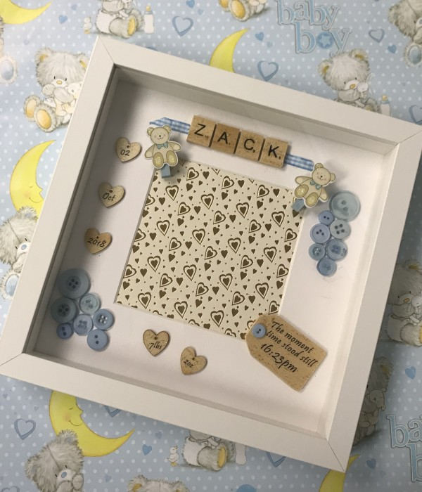 New Born - Boxed Frame