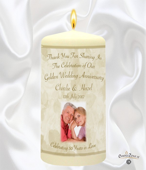 50th Wedding Anniversary Favour Champagne Gles Photo