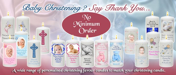 Click Here to view our full range of Christening Favour