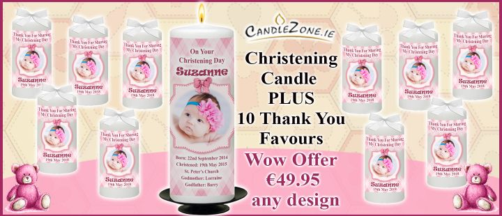 Christening Girl WOW Offer with Favours