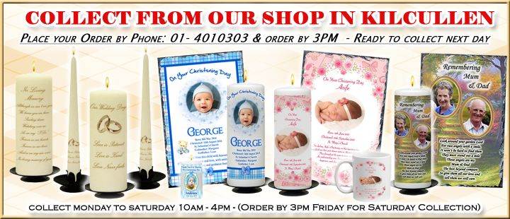 Place your order by Phone 01 4010303 by 3pm and Collect next day (Collection Mon - Sat)
